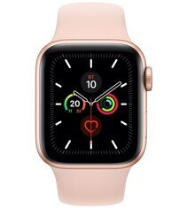 Apple Watch Series 5 GPS 40mm (MWV72) Gold Aluminum Case with Pink Sand Sport Band