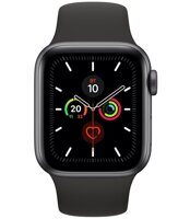 Apple Watch Series 5 GPS 44mm Aluminum Case with Sport Band (серый космос / черный) MWVF2LL/A
