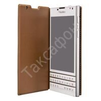 Чехол Blackberry Passport Leather Flip Case (Brown)