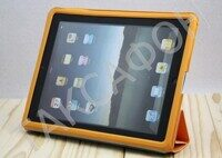 Чехол для Apple iPad 2 Case With Smart Cover (Pink,Blue,Creen,Orange,Grey)