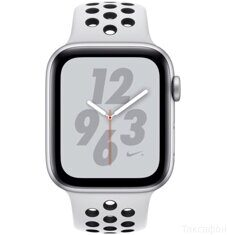 Apple Watch Nike+ Series 4 GPS 40mm (MU6H2) Silver Aluminum Case with Pure Platinum / Black Nike Sport Band
