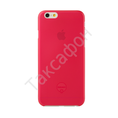 Накладка Ozaki O!coat 0.3 Jelly для iPhone 6 (Red)