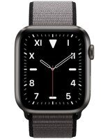 Apple Watch Edition Series 5 (GPS+Cellular) 44mm Space Black Titanium Case with Anchor Gray Sport Loop