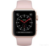 Apple Watch Series 3 42mm Aluminum Case with Sport Band (Gold / Pink Sand) — умные часы