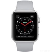 Apple Watch Series 3 42mm Aluminum Case with Sport Band (Silver / Fog) — умные часы