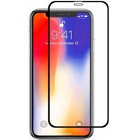 Защитное стекло 6D (Full Screen Cover) для Apple iPhone X / XS