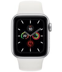 Apple Watch Series 5 GPS 40mm (MWV62) Silver Aluminum Case with White Sport Band