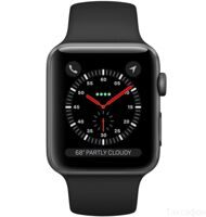 Apple Watch Series 3 42mm Aluminum Case with Sport Band (Space Grey / Black) — умные часы