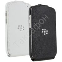 Чехол для BlackBerry Q10 (Leather Flip Shell) Черный