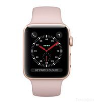 Apple Watch Series 3 38mm Aluminum Case with Sport Band (Gold / Pink Sand) — умные часы