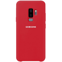 Чехол Silicone Cover для Samsung Galaxy S9+ (Red)