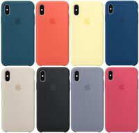 Чехол Silicone Case для Apple iPhone X / XS