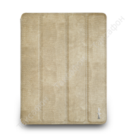 Чехол NavJack Vellum Series для Apple iPad 2 / iPad 3 /iPad 4 (Sandy beige )