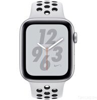 Apple Watch Nike+ Series 4 (GPS) 40mm Silver Aluminum Case with Pure Platinum / Black Nike Sport Band (MU6H2RU/A)