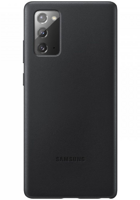 Чехол Samsung Leather Cover для Samsung Galaxy Note 20 (EF-VN980LBEGRU) черный