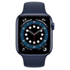 Apple Watch Series 6 GPS 44mm Aluminum Case with Sport Band (синий / темный ультрамарин)