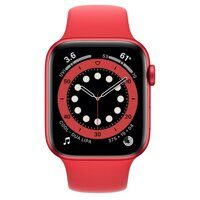 Apple Watch Series 6 GPS 44mm Aluminum Case with Sport Band (PRODUCT RED / красный)