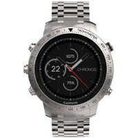Часы Garmin Fenix Chronos (metal)  Steel with Brushed Stainless Steel Band