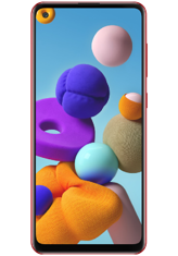 Samsung Galaxy A21s 4/64GB (красный)